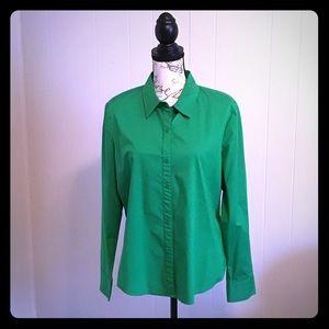 Green Liz Claiborne Top